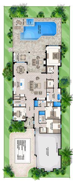 Florida Mediterranean Southern Level One of Plan 75974