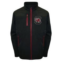 Men's Franchise Club South Carolina Gamecocks Softshell Jacket, Size: Medium, Black