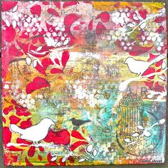 mixed media original 20x20 | Flickr - Photo Sharing!