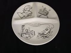 vintage barbecue plates - Google Search Bar B Q, Barbecue, Decorative Plates, Google Search, Vintage, Home Decor, Decoration Home, Barrel Smoker, Room Decor