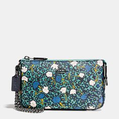 Shop The COACH Nolita Wristlet 19 In Yankee Floral Print Canvas. Enjoy Complimentary Shipping & Returns! Find Designer Bags, Wallets, Shoes & More At COACH.com!