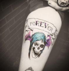 More Avenged Sevenfold Deathbats Tattoo Design photo - 4 Band Tattoo, I Tattoo, Love Tattoos, Body Art Tattoos, Avenged Sevenfold Tattoo, Forever Tattoo, Jimmy The Rev Sullivan, Fresh Tattoo, Tattoo Inspiration