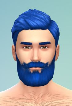 Sims 4 Gentleman Full Beard There is this icon in the CAS Interface with a freaking cool beard on it but there is no such beard in the game. Why, EA? Well here is a nice classy full beard for your...