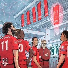 The Champions of Europe.🏆 (Photo via lfc Liverpool Kop, Liverpool Memes, Liverpool Live, Liverpool Players, Liverpool Football Club, Liverpool Champions League, Memphis Depay, This Is Anfield, Soccer Pictures