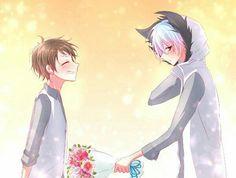 Kuro - Sleepy Ash and Mahiru Shirota   Servamp