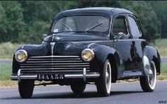 1951 Peugeot 203...for some reason I like this car. Got it in 1/43 scale.