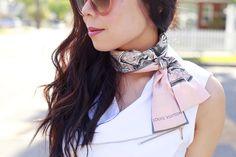 louis vuitton bandeau how to wear - Google-haku