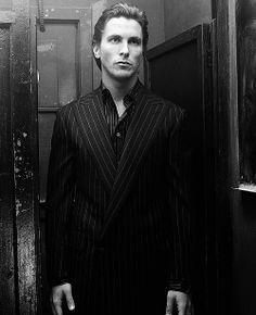 Christian Bale - in my head Christian Grey looks like him