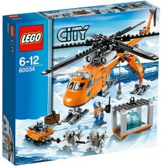 The Lego City Arctic Helicrane - a great selection of Lego construction sets at Wonderland Models.  http://www.wonderlandmodels.com/products/lego-city-arctic-helicrane/