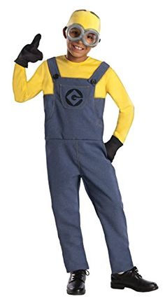 Minion Dave Costume  Medium *** See this great product. (This is an affiliate link) #Minion