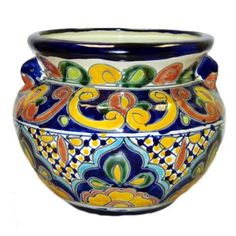 Talavera Garden Decoration - Decorative Pottery - Talavera Emporium