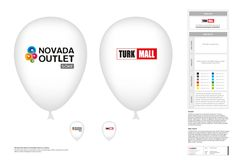 novada kurumsal kimlik tasarımı kapsamında promosyon ürünleri tasarımı & üretimi. novada özel günlerde kullanılmak üzere balon tasarımı.