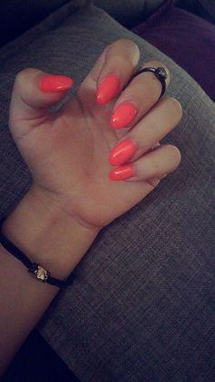 #nails#summernails#summer#neon#orange