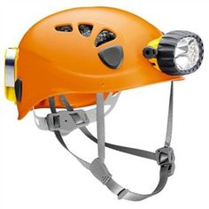 Petzl Spelios Size 1 is a combination of a helmet, with an expanded foam liner and a waterproof hybrid headlamp that is perfect for cavers and canyoneers.