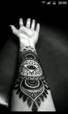 Strange but nice tatto