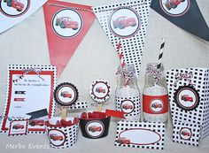 Kit imprimible Cars by Merbo Events by Merbo Events, via Flickr