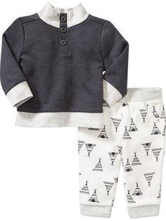Sweatshirt & Pants Set for Baby