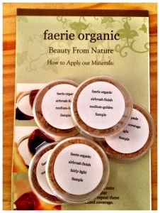 Faerie Organic Artisan Made Mineral Make-up is my dream come true! I just started using it about a month ago, and my skin loves it! When I wear the mineral powder foundation, I feel like my skin is finally one beautiful balanced tone! It lasts all day, and is very light weight and looks so natural! Click the photo to read my blog! My blog will connect you to Faerie Organic make-up!
