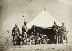 Kurdish Soldiers, 1877, Caucasus.
