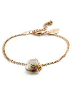 bridemaids gift!  Small Sips Bracelet, #ModCloth