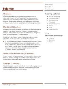 33 best housing interior design lesson plans images - Housing and interior design lesson plans ...