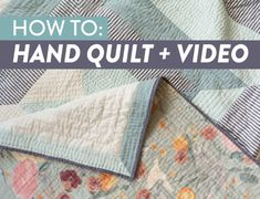 Simple hand quilting designs patchwork 66 new ideas Easy Hand Quilting, Quilting 101, Machine Quilting Patterns, Quilting Templates, Easy Quilt Patterns, Quilting For Beginners, Easy Quilts, Free Motion Quilting, Quilting Tutorials