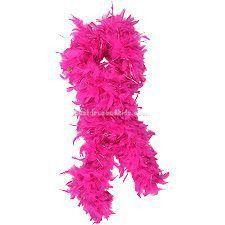 Chandelle Boa, Dark Pink