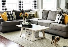 Fall living room @candice Michelle designs