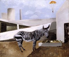 Zebra and Parachute  - Christopher Wood