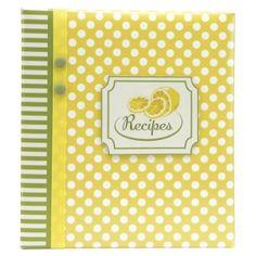 Meadowsweet Kitchens Recipe Card Cookbook Organizer - Fruit 'n
