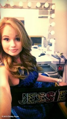 "Debby Ryan's, photo,""She's back."""