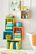Re-Purposed Bathroom Storage Solutions!