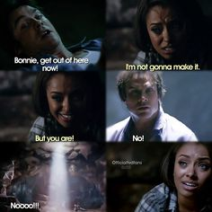 "#TVD 6x05 ""The World Has Turned and Left Me Here"" - Damon and Bonnie"
