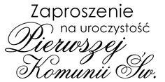 Digi stemple by Novinka: Zaproszenie na uroczystość Pierwszej Komunii Świętej Printables, Cards, Communion, Quilling, Diana, Scrapbooking, Ideas, Stamping Up, Bedspreads