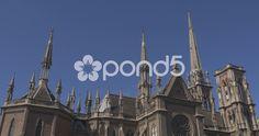 Church Sacred Heart Córdoba,Argentina - Stock Footage | by BucleFilms