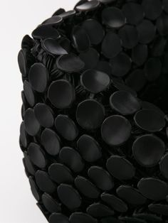 Fabric Manipulation used to create black textures; creative textiles for fashion…