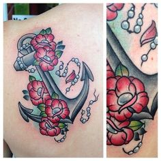 19 Trendy Tattoo Mother Daughter Matching Families - Maria Page Feminine Anchor Tattoo, Anchor Tattoo Design, Anchor Tattoos, Rose Tattoos, New Tattoos, Old School Rose, Ankle Tat, Infinity Tattoos, Tattoos For Daughters