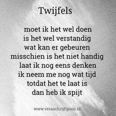 Bezoek het bericht voor meer. Trust Quotes, Love Quotes, Dutch Words, Slam Poetry, Dutch Quotes, Breakup Quotes, Word Out, Good Thoughts, True Words
