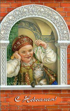 Ludmila Romanova é uma artista russa,da qual até agora não consegui encontrar na Internet quaisquer dados biográficos. Os seus traba...