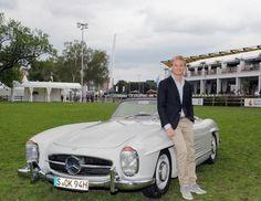 Nico Rosberg: Mercedes-Benz 300SL (© WireImage | Getty Images)