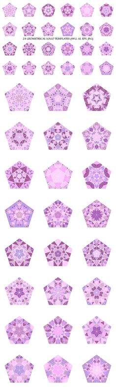 24 Mosaic Pentagon Logo Templates #AbstractLogoTemplates #abstract #LogoTemplate #GeometricLogo #LogoDesignTemplates #geometrical #LogoTemplateDesign #pentagon #vector #logo #purplegraphics #geometric #polygons #geometrical #LogoDesign #LogoDesignTemplate #logos #purplegraphic Abstract Logo, Geometric Logo, Logo Design Template, Logo Templates, Pentagon Logo, Logo Background, Pattern And Decoration, Best Logo Design, Line Design