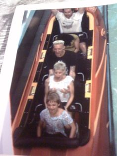 shutupandquityourcrying:    Today at work I met Die Antwoord and put them onmy ride Dudley Dorights Ripsaw Falls, and spoke to them, and threw away their cup for them, and then stole this picture of them. Solid day.    Ninja grabbing Yo-Landi's boobs…omg