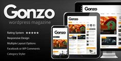 professional and well-designed responsive wordpress themes.
