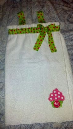 Towel Wrap.   http://www.ehow.com/how_6737237_towel-wrap-tutorial.html#page=0