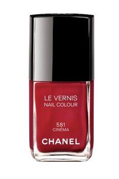 Chanel Cinéma - Le Vernis 581  Efeito Cremoso  Creamy Effect