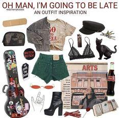 @kingkruke ༄ #grungeoutfits #FashionTrendsGrunge