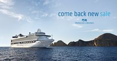 Princess Cruises takes you to fascinating destinations with our warm and welcoming service onboard to help create unique, enriching experiences and memories. Enjoy these amazing offers during our Come Back New Sale on select cruises and stateroom type sailing Fall 2017 through Spring 2018.