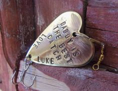 Daddy is the Best Catch  Personalized for Dad  by CandTCustomLures, $19.00