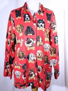 Nick & Nora Size L Cotton Milk Bone Dog Sleep Shirt Night Shirt  #NickNora #Sleepshirt
