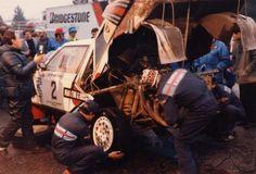 Team Martini Lancia 21. Olympus Rally 1986 (USA) Lancia Delta S4 Markku Alén - Illka Kivimäki was 1st.